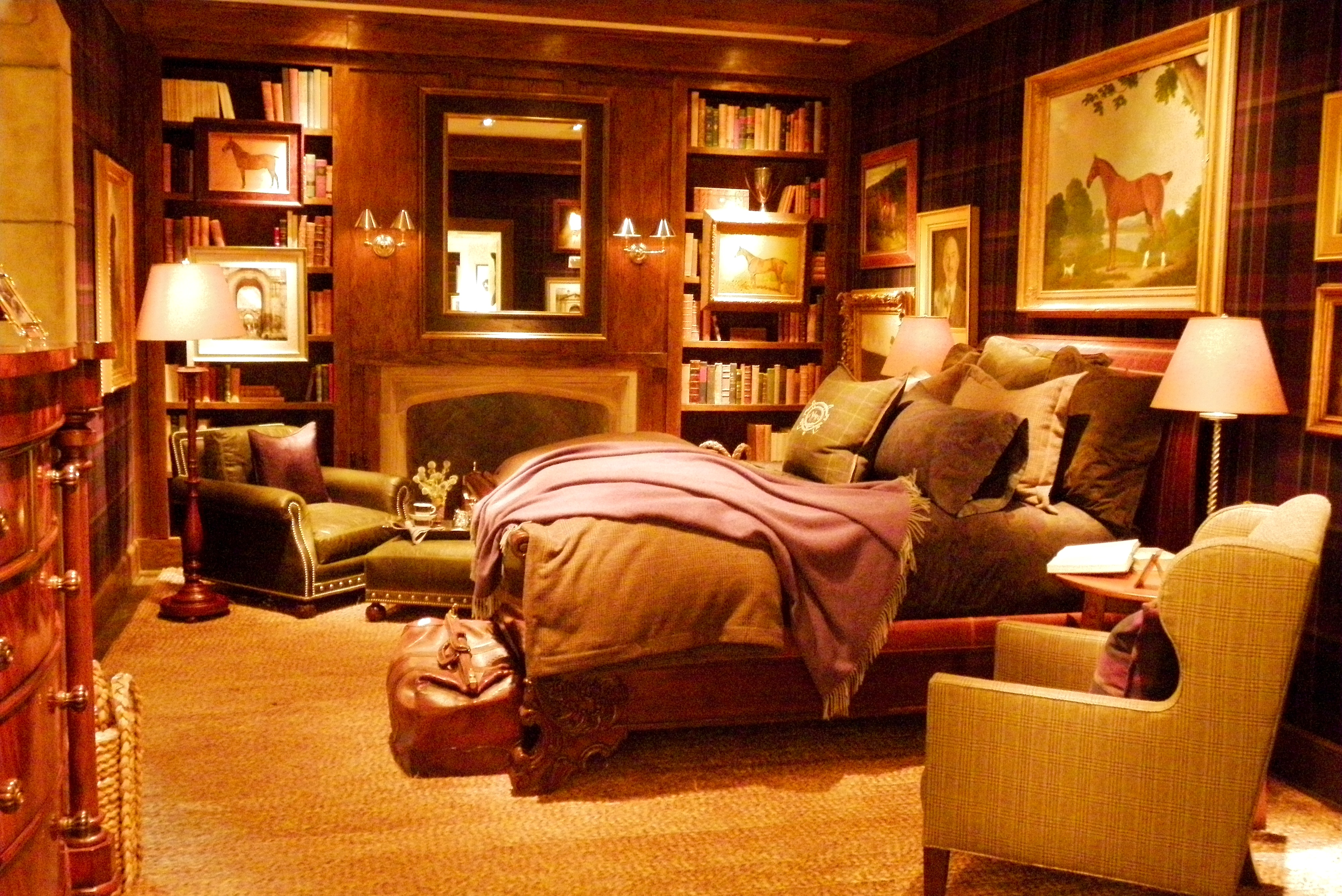 Ralph lauren home design in ny styled by claudia for Ralph lauren home designs
