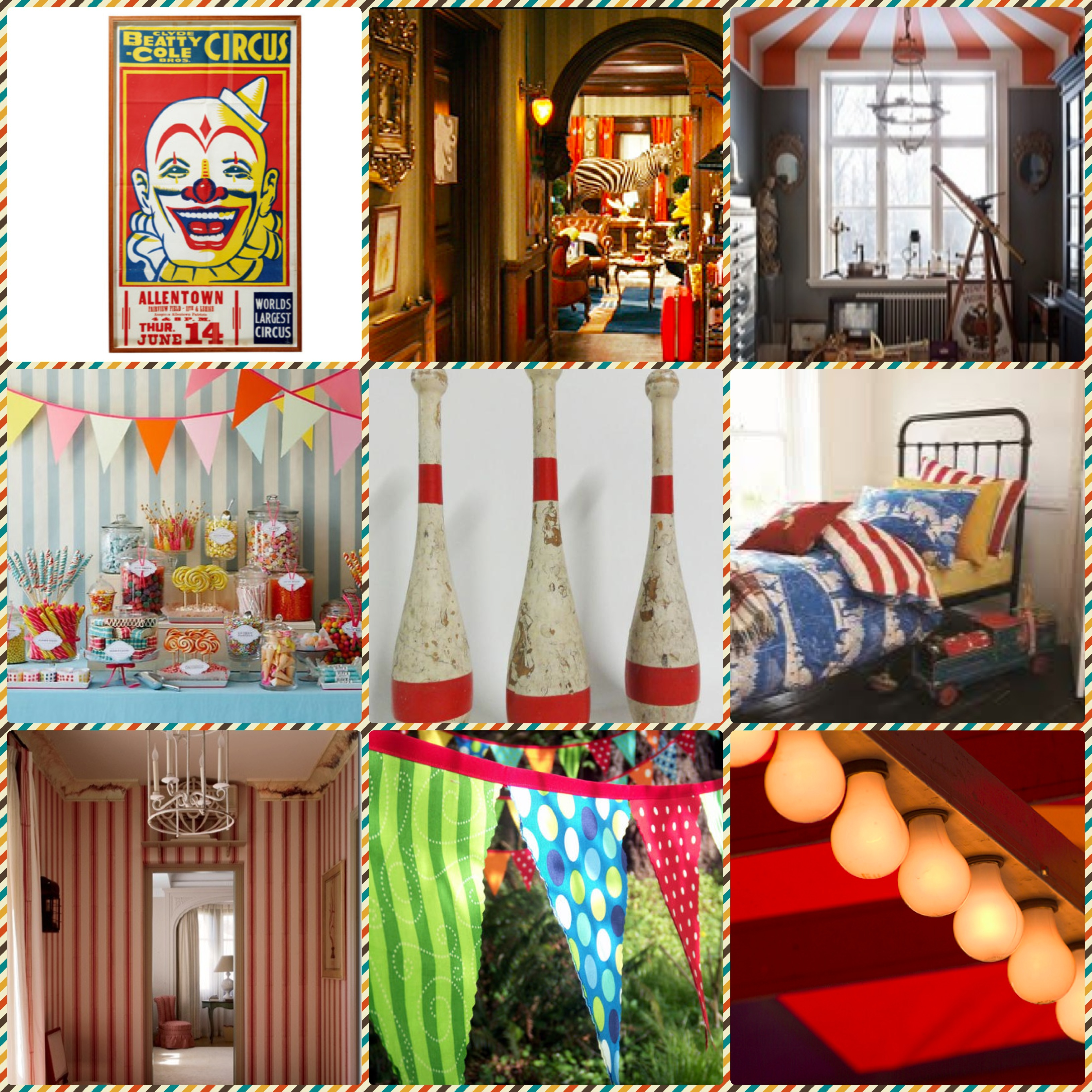 Circus Themed Interior Inspiration Styled By Claudia
